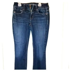 American Eagle Jeans with Button Pockets - Artist